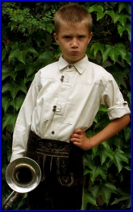 Traditional Bavarian Shirt for children