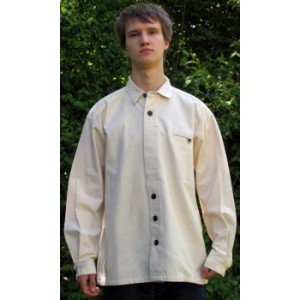 Traditional Shirt Inn beige-blue