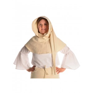 Medieval Hood with Liripipe in cotton