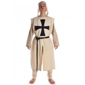 Medieval Tabard beige with black cross