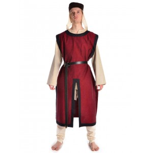 Medieval tabard with black frame