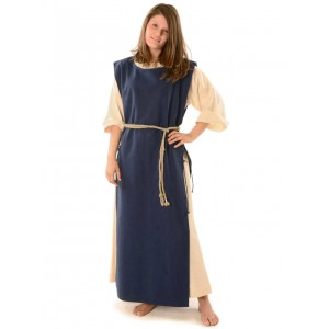 Medieval surcoat with strings 133cm
