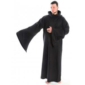 Medieval Monk's Robe woollen felt open 2