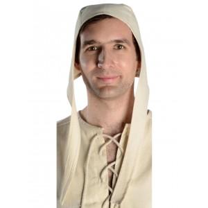 Medieval coif hat