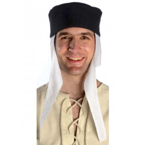 Medieval Cap- Set white