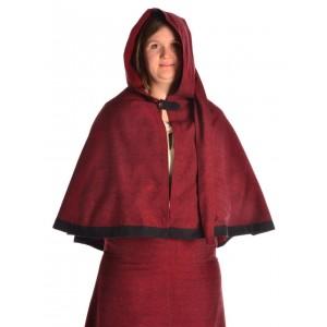 Medieval Hood with Liripipe and medium cape