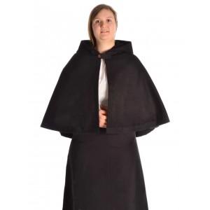 Medieval Hood with Medium Cape - Felt