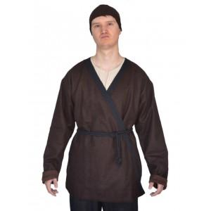 Medieval Viking Coat - brown felt