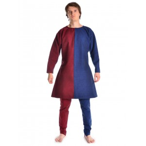 Medieval Medium tunic two-colored