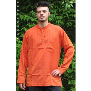 Kurta Shirt orange