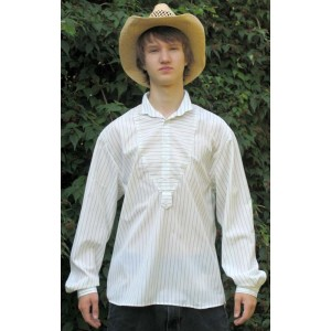 Cowboy Shirt Mississippi white-black